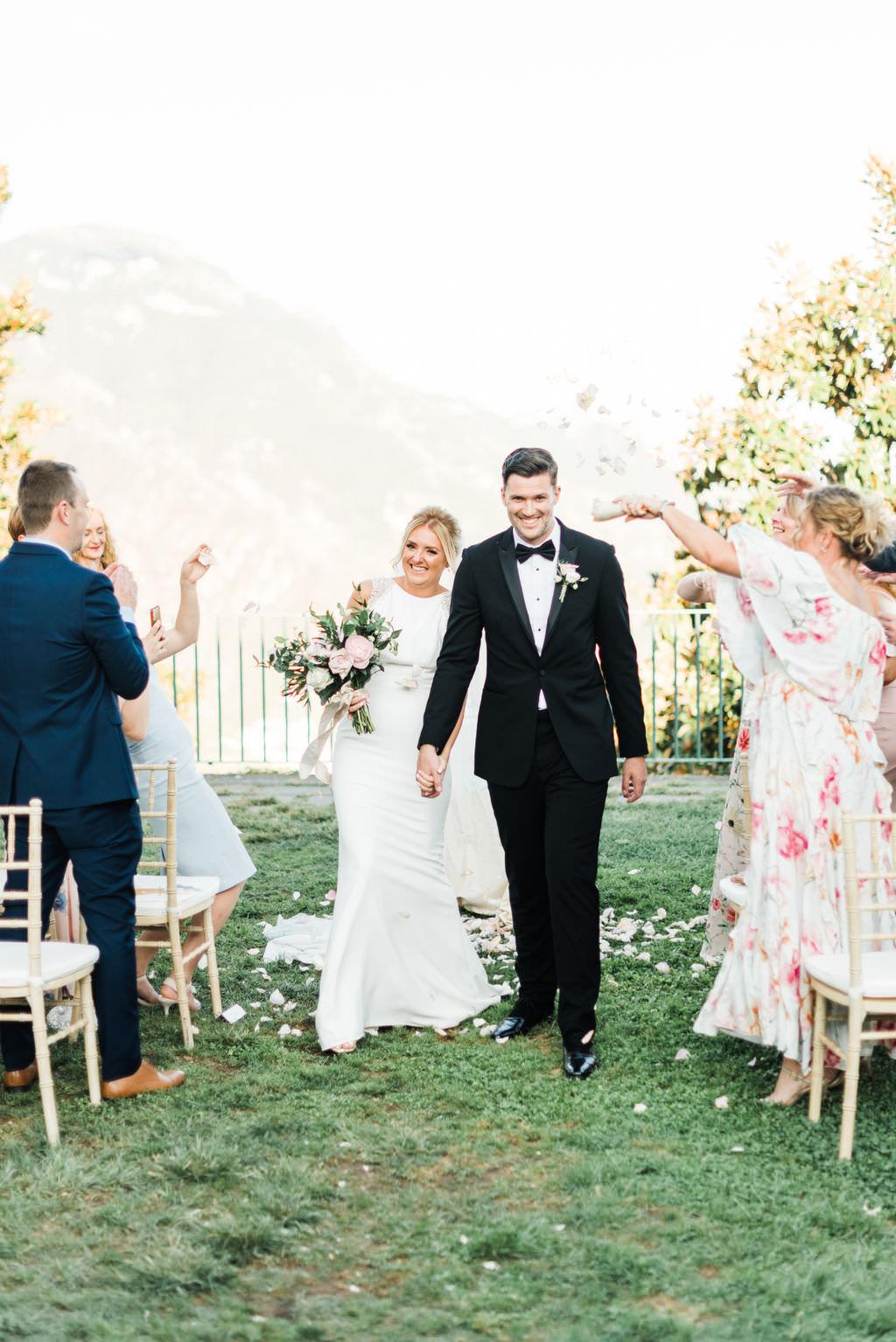 Luxury italy wedding planner Ravello wedding ceremony